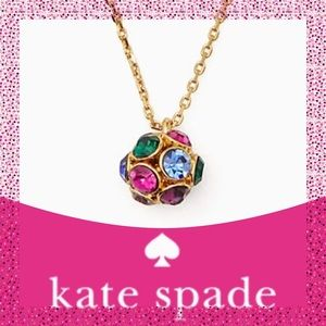 "Kate Spade ♠️ ""Time to Shine"" Pendant Necklace NWT"